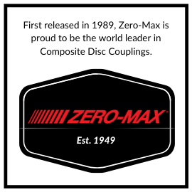 Zero-Max is the world leader in Composite Disc Couplings.
