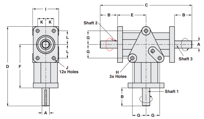 Counter-Rotating Gearbox