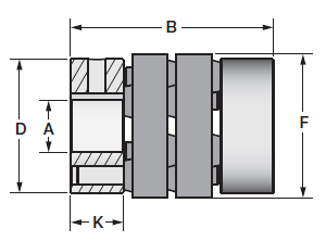 Schmidt Flexible Couplings | F028B