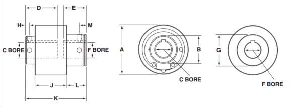 Regular Shaft-to-Shaft Torq-Tenders | TT3-C
